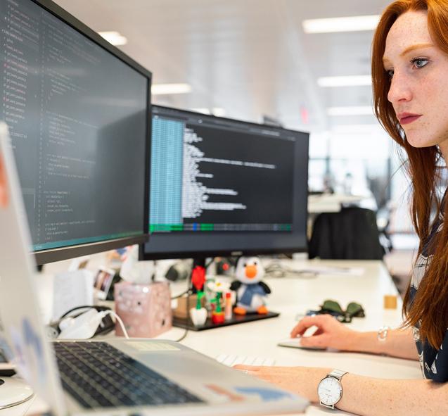 Metier developpeuse informatique